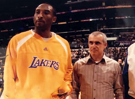 Kobe Bryant and Kerry Assil