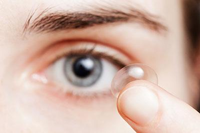 Contact lens risks amid Covid-19
