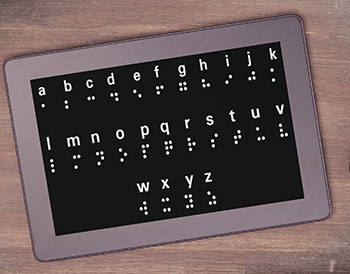 Braille Tablet